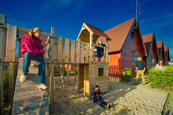 Plac Zabaw, domki na wynajem nad morzem - Sarbinowo