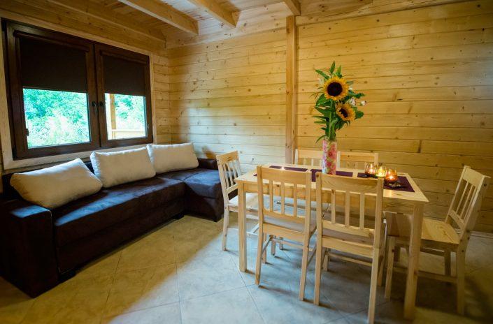Elegancki salon, wakacje nad morzem domki, Sarbinowo
