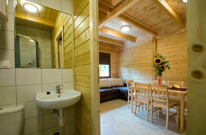 Wczasy nad morzem domki, Sarbinowo - Salon z łakienką