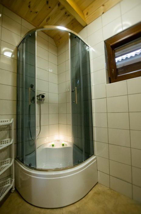 Wygodny prysznic, wczasy nad morzem domki, Sarbinowo