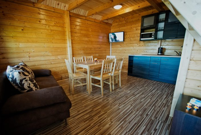 Salon, domki letniskowe nad morzem Sarbinowo