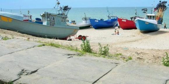 Kutry rybackie, Domki letniskowe, Sarbinowo
