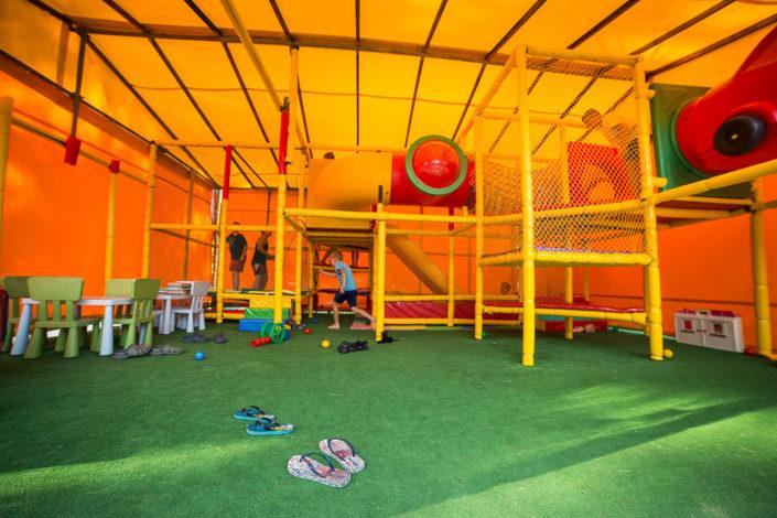 Hala zabaw dla dzieci, wczasy nad morzem domki, Sarbinowo