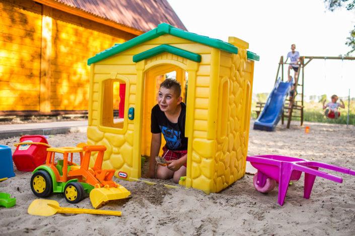 Miejsce zabaw, wczasy nad morzem domki, Sarbinowo